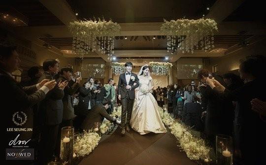 Sungmin and Kim Sa Eun se casam2