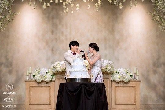 Sungmin and Kim Sa Eun se casam3