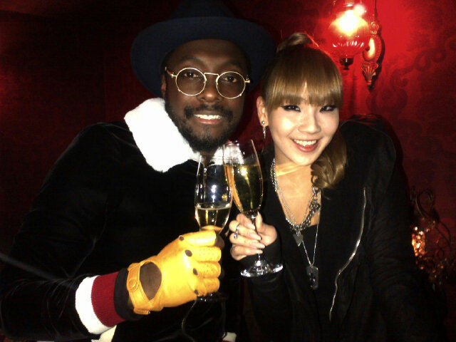 Will.i.am and CL